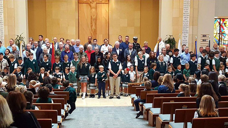 Veterans Day Mass 2018