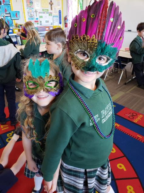 Mardi Gras at St. Pats