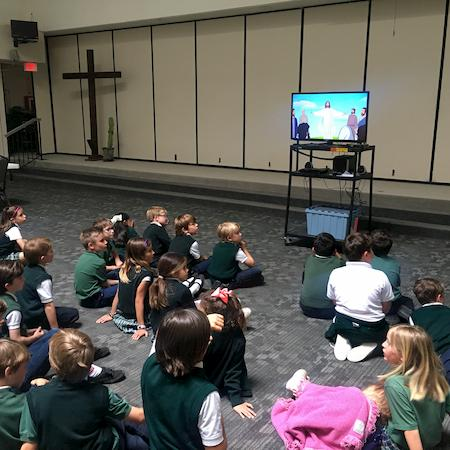 2nd Grade Prepares for Sacrament of First Holy Communion