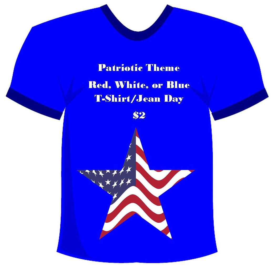 Patriotic T-Shirt/Jean Day
