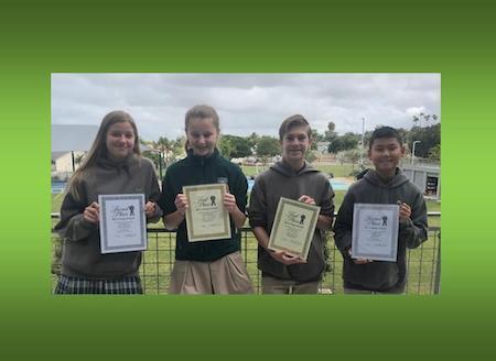 Serra Club Essay Winners
