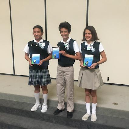 Speech Contest Winners