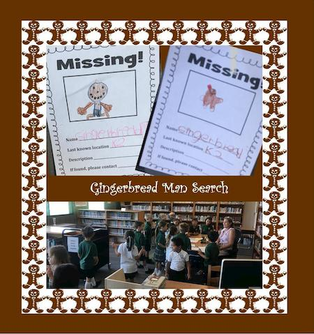 Gingerbread Man Search