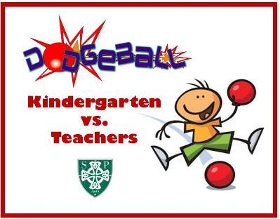 Dodgeball Game Kindergarten vs. Teachers