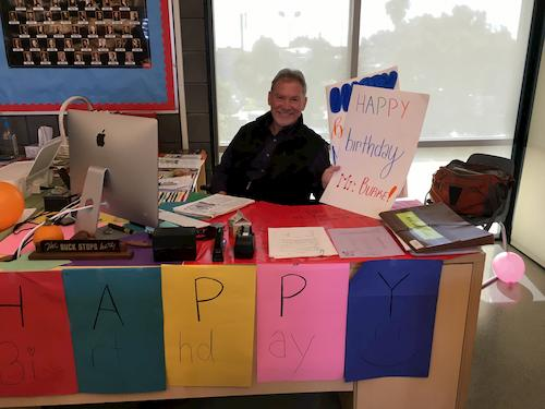 Happy Birthday Wishes to 8th Grade Teacher