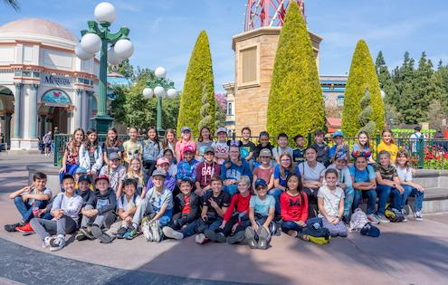 Learning Experience at California Adventure for 5th Graders
