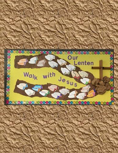 4th Grade Lenten Walk
