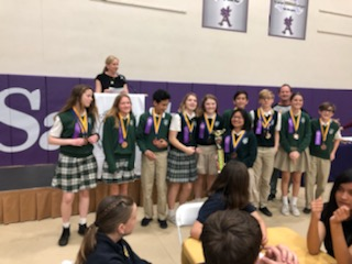 4th Place Finish For Academic Decathlon Team