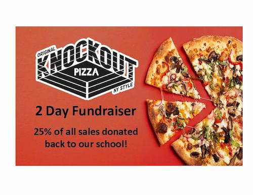 Knockout Pizza 2 Day Fundraiser
