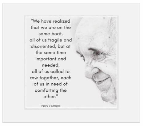 Words from Pope Francis