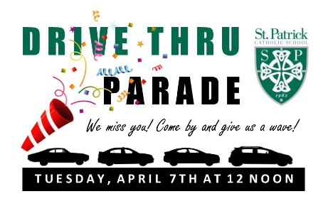 St. Pats Drive Thru Parade RESCHEDULED