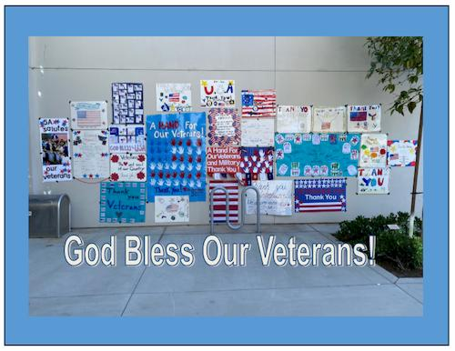 St. Pats Salutes Our Veterans!