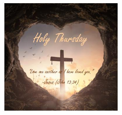 Holy Thursday - Noon Dismissal