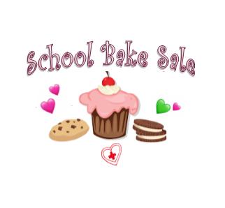 BAKE SALE TOMORROW
