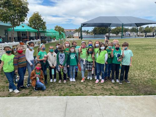 Students Celebrate St. Patrick's Day!