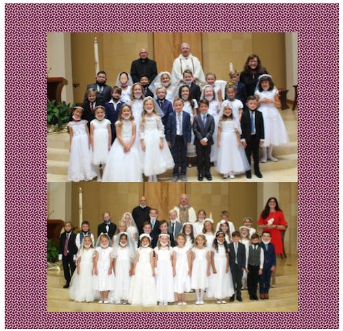 2nd Graders Receive First Communion