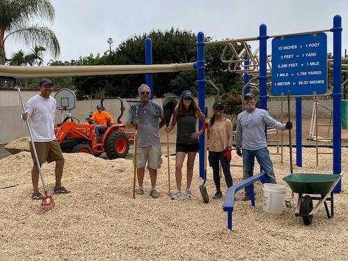 New Mulch in Playground!