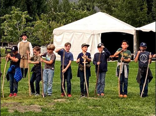 5th Grade's Trip to  Revolutionary War
