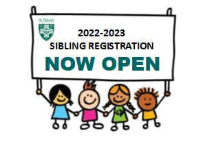 Sibling Registration for 2022-2023 Now Open